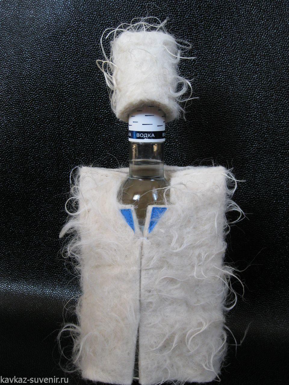 Посадить на бутылку (сесть на бутылку)